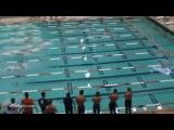 Курьезный случай в плавании на спине